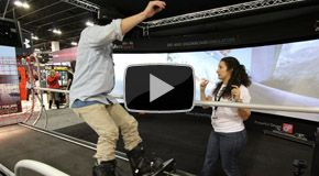 Reviews from the SIA 2014 Snow Show attendees right after getting off the SkyTechSport Ski and Snowboard Simulator. 'Awesome!' with SkyTec - Promo Video