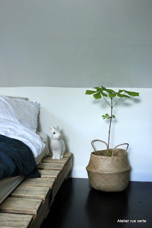 Chez moi // Mon panier d'été est devenu un cache-pot // La tendance déco à adopter !