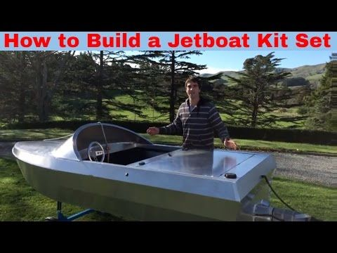How to build a JetBoat Kitset - YouTube