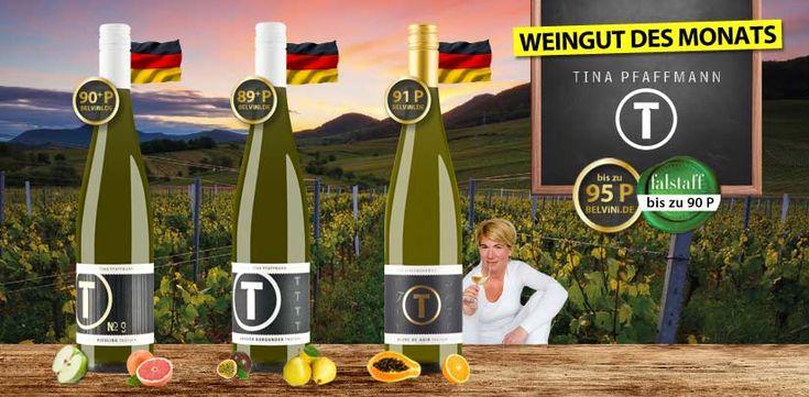 Tina Pfaffmann ~ Pfälzer Riesling & Co. auf höchstem Niveau ~ unser Weingut des Monats - http://weinblog.belvini.de/tina-pfaffmann