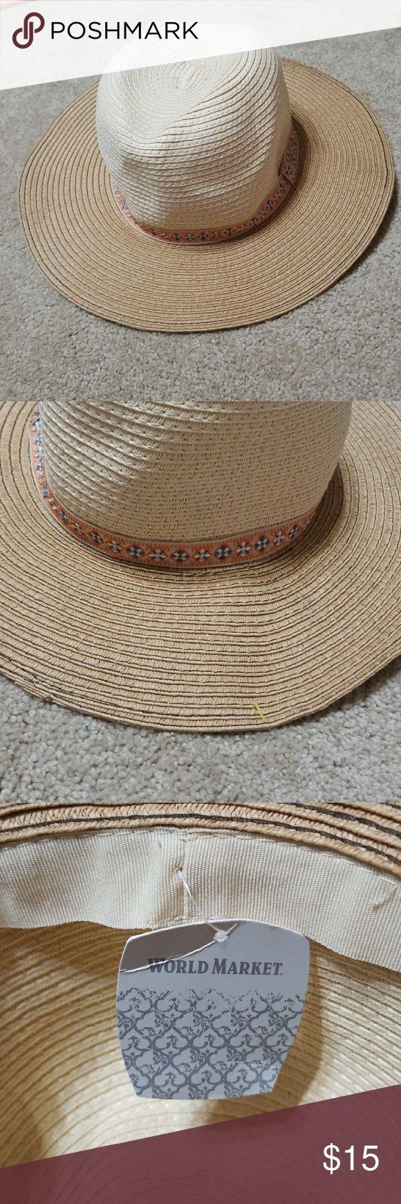 🌺World market hat Hat world market Accessories Hats