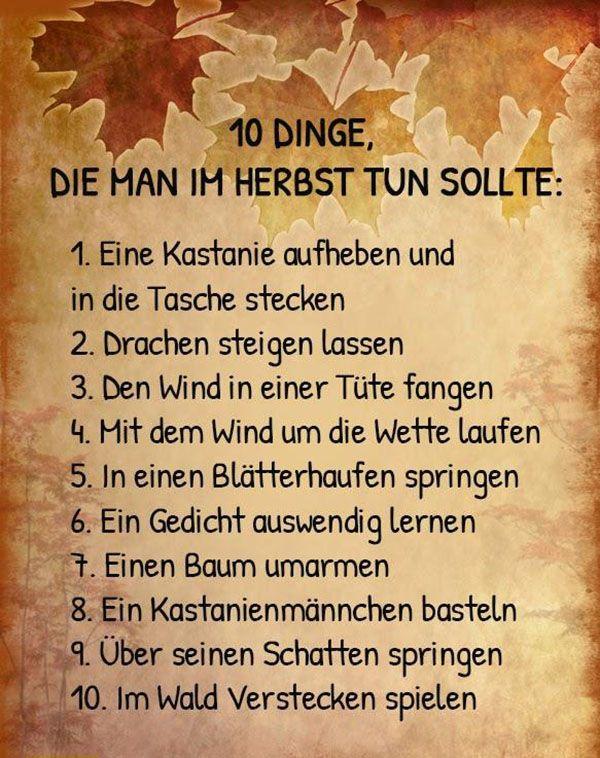 binmitdabei.com - 10 Dinge, die man im Herbst tun sollte