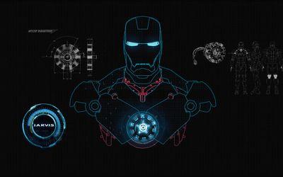 JARVIS - Iron Man wallpaper