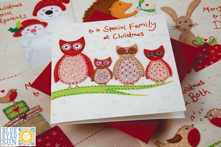 Gorgeous Christmas card range from Blue Eyed Sun