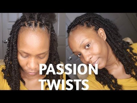 how toeasy passion twist using rubber band method/ step