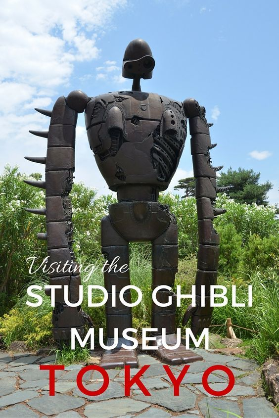 Guide and tips to visiting the works of Hayao Miyazaki and the Studio Ghibli Museum with works that include Totoro in Tokyo, Japan with kids. See the cat bus!