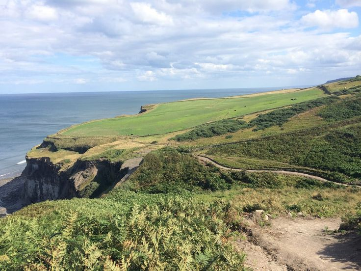 Cleveland Way England Distance: 110 miles  The full Cleveland Way hike stretches from Helmsley to Filey and takes an average of 9 days to complete. You can conquer the whole thing on a long walking holiday, or follow the section routes suggested by National Trails.