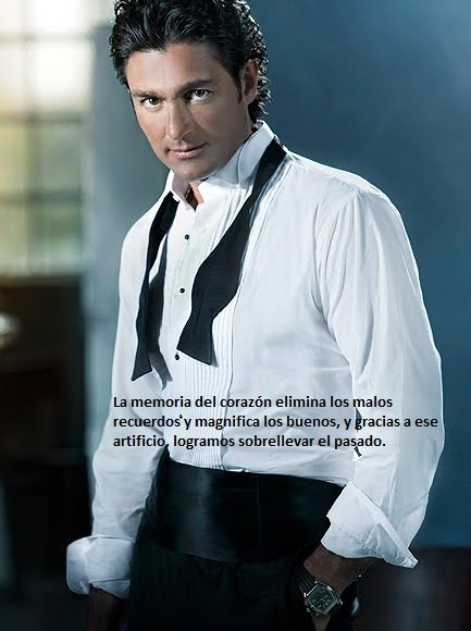 Fernando Colunga Olivares (pronounced: [feɾˈnando koˈluŋɡa oliˈβaɾes]; Born March 3, 1966 in Mexico City is a Mexican actor known for his work in Mexican telenovelas such as Maria la del Barrio, Esmeralda, La Usurpadora, Amor Real, Alborada, Soy tu dueña. Colunga received his drama education at CEA (Centro de Educación Artística de Televisa). <3