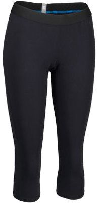 Women's Columbia Baselayer Midweight 3/4 Tight - Black Athletic Pants - Shop for women's Pants - Black Pants