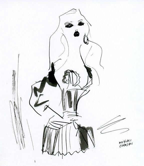 """Daphne Groeneveld: Vogue Russia, April '12"" ちょっと大人な雰囲気のダフィー。ぷっくり唇がセクシー。"