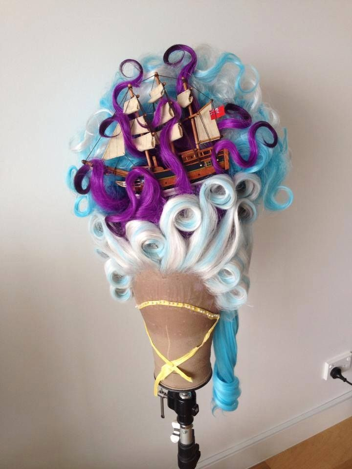 Fantastically fun creation!!! By: Clutching at Curls - Online Wig Shop http://clutchingatcurls.com.au/