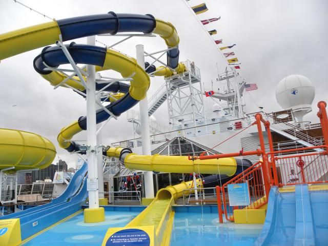 Inside the Carnival Dream Cruise Ship: Carnival Dream - Exterior Common Areas