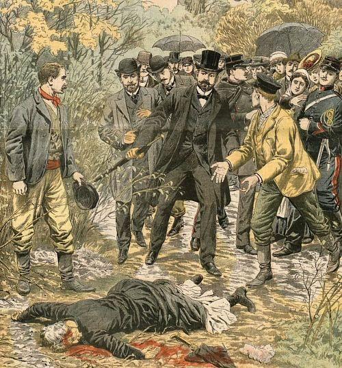 LA Police scientifique déjà chargée des crimes non élucidés  voici plus d'un siècle (Le Petit Journal, 1907)