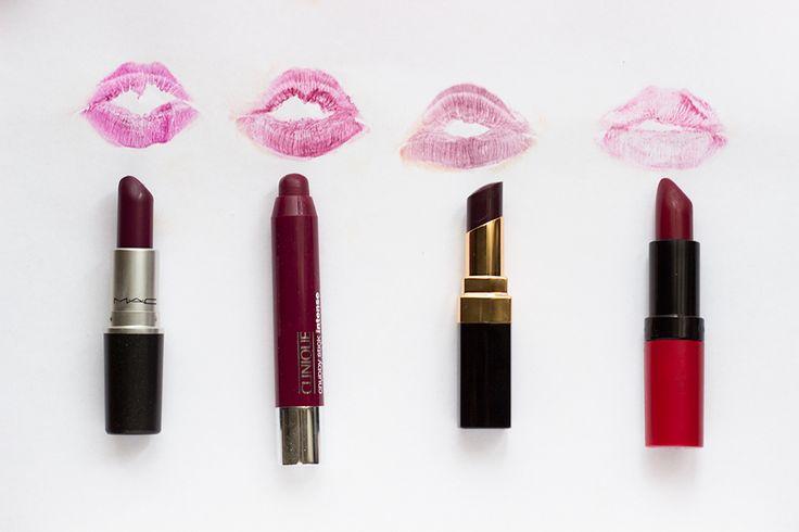 Szépséglabor: 4 TIPS FOR BERRY LIPS