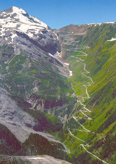 """St. Gotthard Pass; Switzerland - """"the hills are alive with the sound of music!"""""""