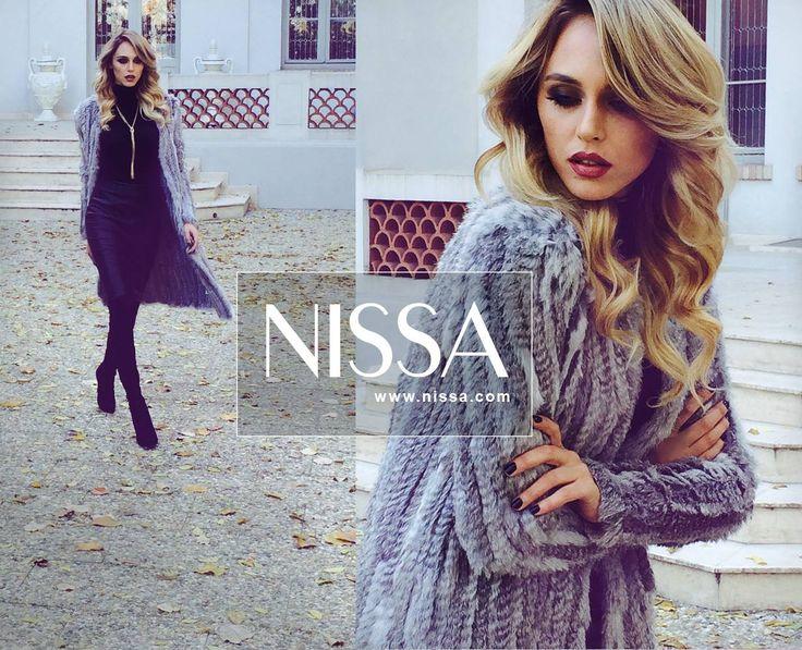 #nissa #get #wild #autumn #fur #blana #natural #mood #style #stylish #model #beautiful #look #outfit #fashion #fashionista #fall #fw2015 #fw  www.nissa.com