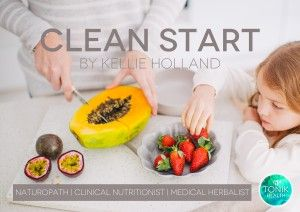 """My breakfast recipe book """"Clean Start"""" is FREE when you sign up to the Tonik Health newsletter  #health #ebook #breakfast #recipes"""