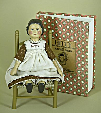 Gail Wilson's Hitty--for my friend Trish, who likes dolls, and has a cute as a button grand daughter.