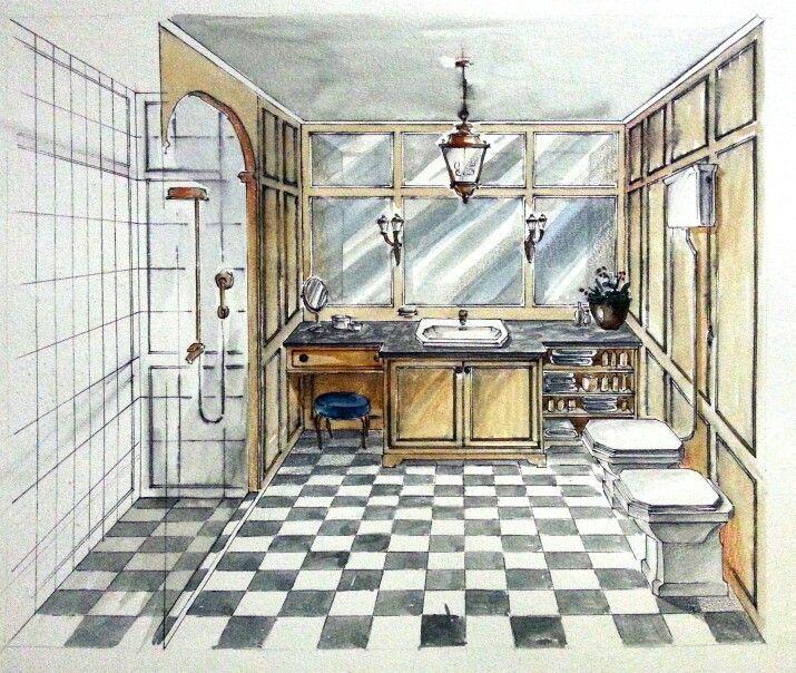 Interior Design Sketch: 120 Best Magic Marker Makings Images On Pinterest