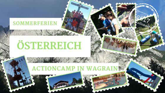 2017 Action Feriencamp – Österreich/Wagrain