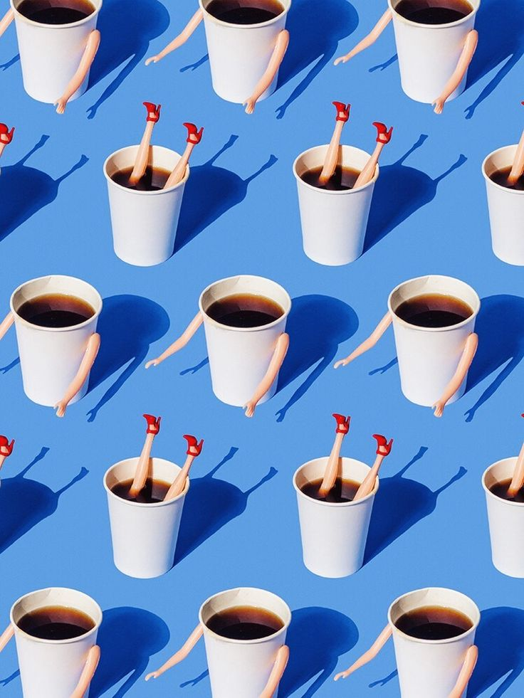 visual ode to everyday objects - fall for coffee (the taable)