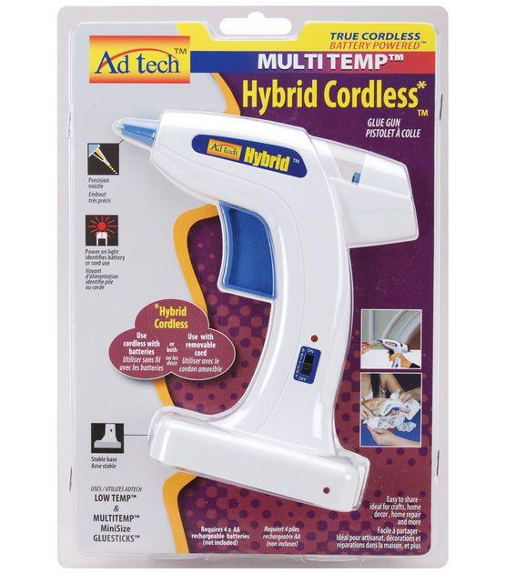 Adhesive Tech Multi Temp Hybrid Cordless Glue Gun White