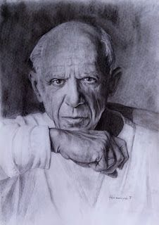 Filani Art: Drawing of Picasso