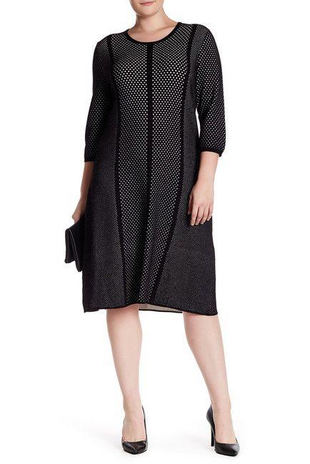 Image of Rachel Roy Mesh Dress (Plus Size)