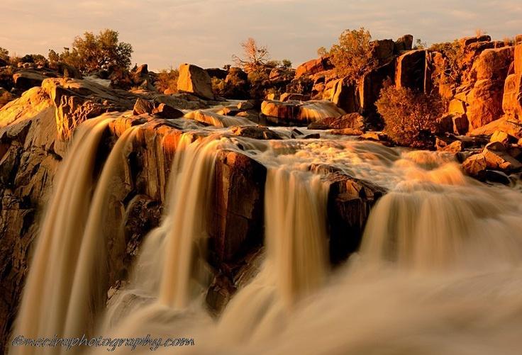 Augrabies Falls Sunset, Gariep River, South Africa