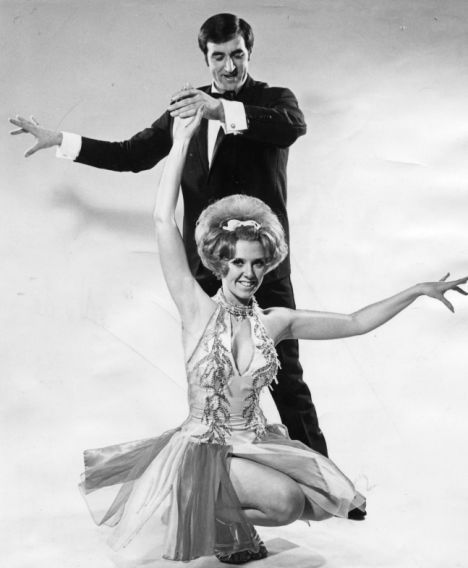 Len Goodman (Strictly) with hair! and Cherry Kingston.