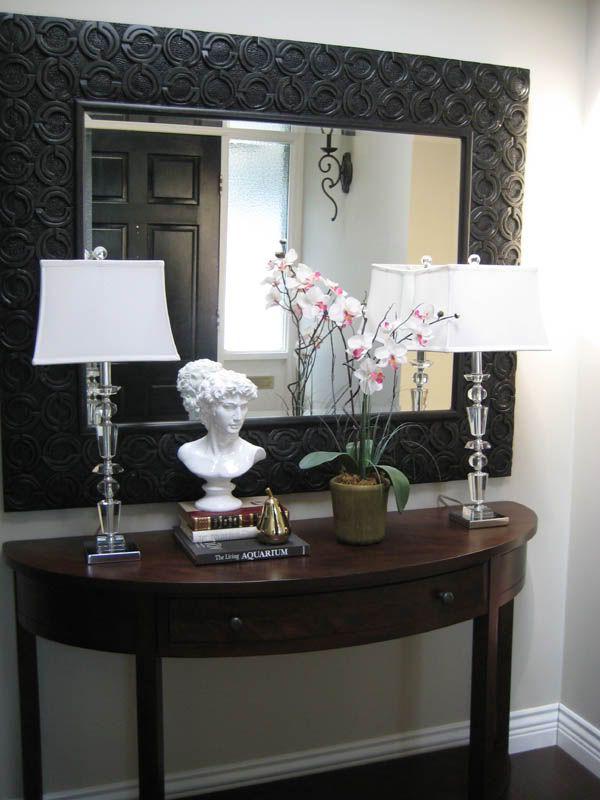 Foyer Table Vignettes : Best vignettes styling images on pinterest door