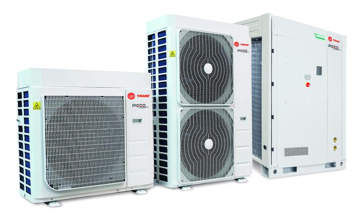 Trane Picco 2018 Heat Pump Range Αντλίες θερμότητας με