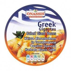 """""""Onassis"""" Greek baked beans 280g"""