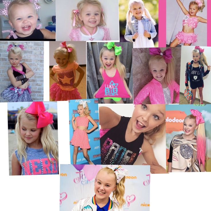 JoJo Siwa Age board from 1 to 14 (Edit by Mia Lavayen)