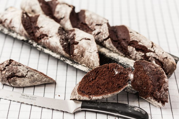 Thermomix Chocolate Baguette