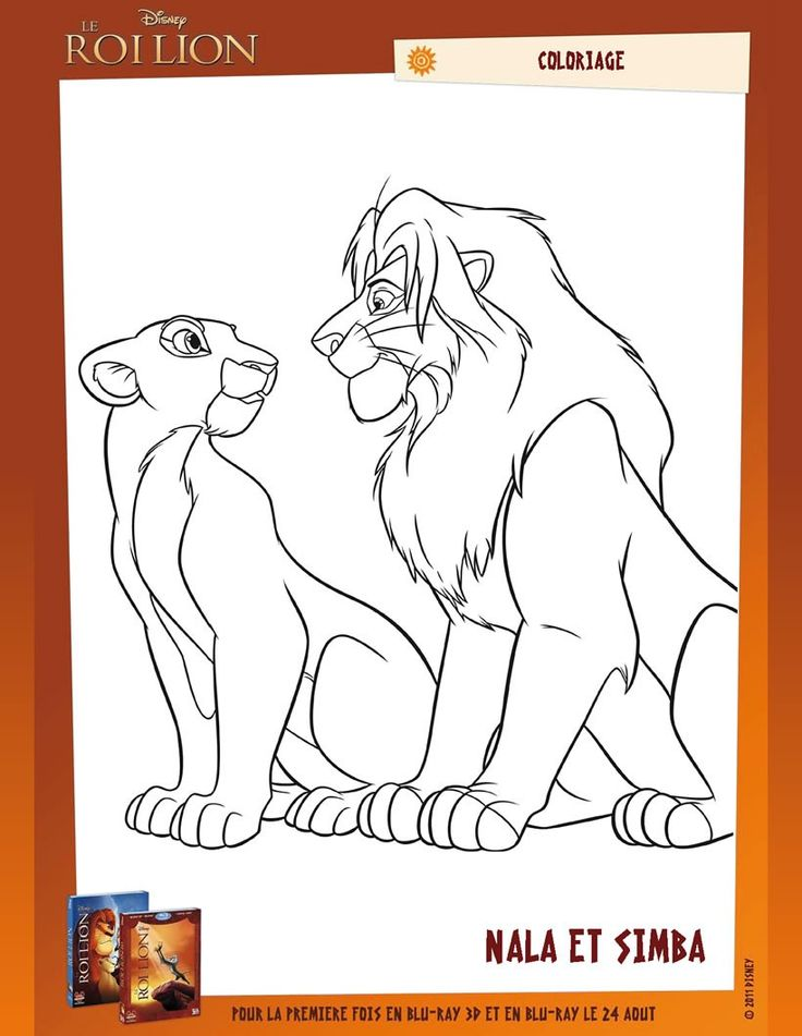 25 best ideas about dessin lion on pinterest tete de - Dessin a colorier disney ...
