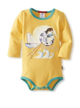 63% OFF Coney Island Baby Longsleeve Bodysuit (Yellow)