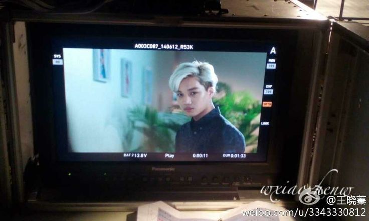 Happy Camp director Weibo update - EXO kAI