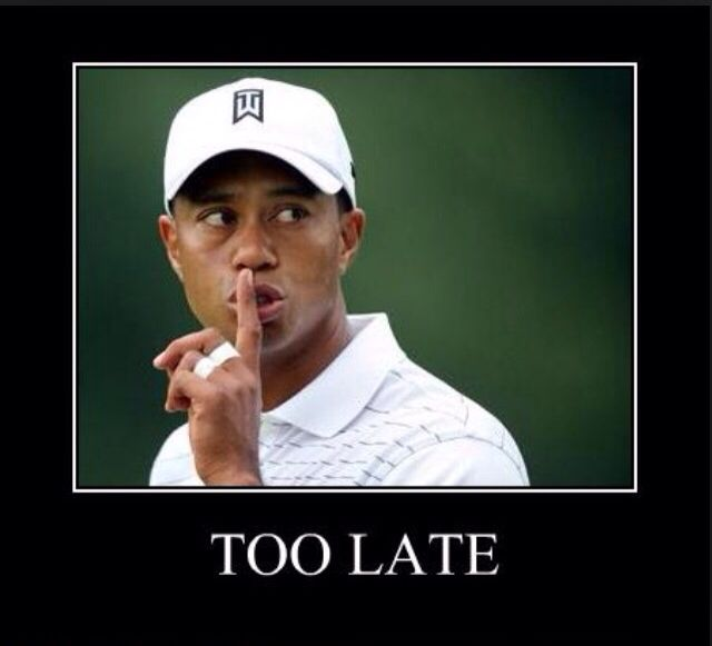 Tiger Woods funny