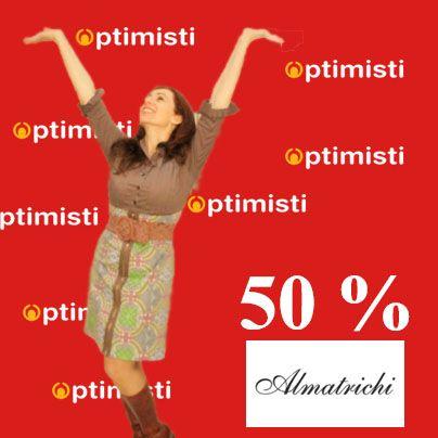 Rebajas colección Almatrichi invierno 2013 en Optimisti Carihuela (Torremolinos)