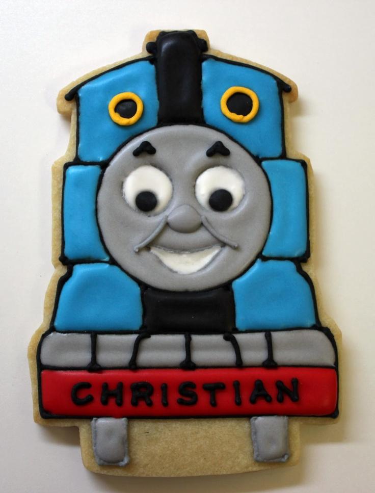Sugar Mama Cookies: New Thomas the Train Cookies