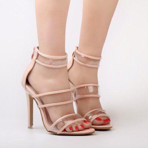 GET $50 NOW | Join RoseGal: Get YOUR $50 NOW!http://www.rosegal.com/sandals/zipper-transparent-plastic-sandals-1109657.html?seid=6031531rg1109657