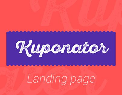 "Check out new work on my @Behance portfolio: ""Kuponator"" http://on.be.net/1KLBxYQ"