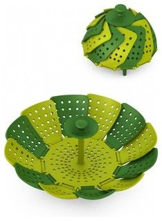 Lotus Steamer, Green - modern - colanders and strainers - by CutleryAndBeyond