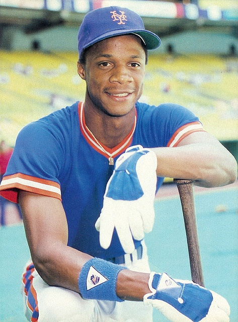 """Darryl Strawberry - Great player and classic """"what could have been"""" story. Should have been a Hall of Famer, in my opinion."""