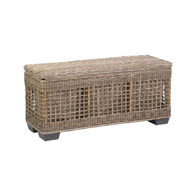 Storage Basket Bench Shades Of Light In 2020 Bench With Shoe Storage Storage Bench Storage Baskets