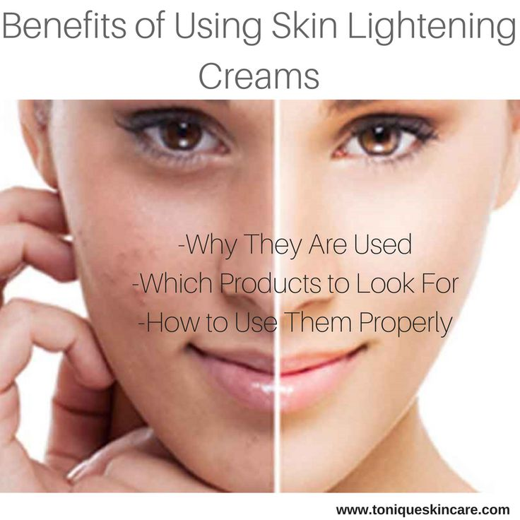 Use skin lightening creams for hyperpigmentation removal and brighter, more flawless skin that does not require makeup.