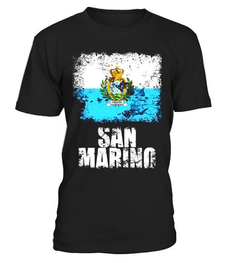 """# San Marino Flag T-Shirt 