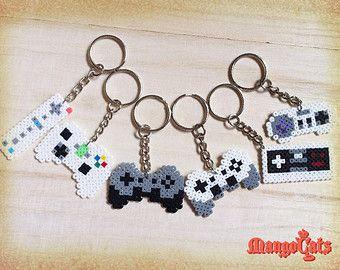 Sprite de perle hama contrôleur de jeu (Wii, NES, SNES, Xbox, PS, Playstation, Nintendo, Microsoft)