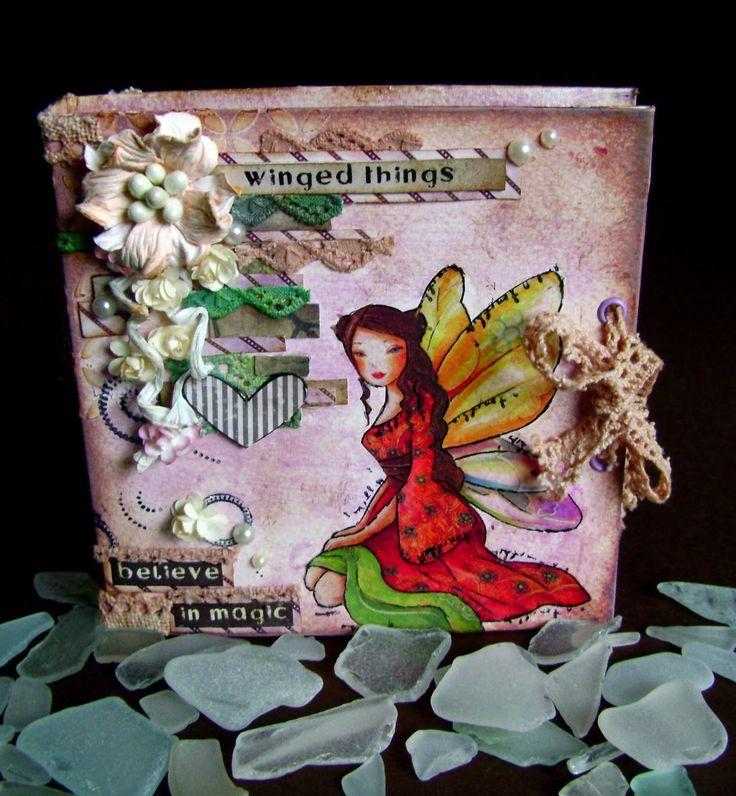 #minibook #bookbinding #minialboum